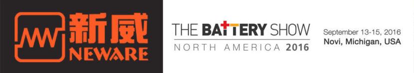 neware-exhibition-thebatteryshow2016